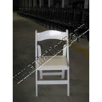 Buy cheap White Wood Folding Chair from wholesalers