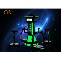Wholesale 1kw Virtual Reality Treadmill Simulator Interactive Game For 4 Players from china suppliers
