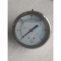 Buy cheap 100mm Back liquid filled manometer  , Sealing vacuum pressure gauge from wholesalers