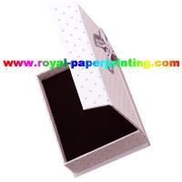 high quality customize luxury cosmetic / jewelry paper box printing