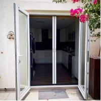 Buy cheap Easy installation DIY trackless sliding mosquito net door for sale from wholesalers