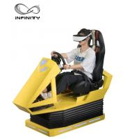 Wholesale Manual Operation VR Race car simulator Different Maps High Resolution VR Headset from china suppliers