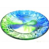 Wholesale Antique imitation lead crystal handmade fruit plates from china suppliers