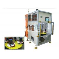China Vertical Type Stator Automatic Coil Winding Machine With Double Heads on sale