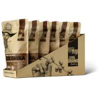 Wholesale Food Packaging Flat Bottom Kraft Paper Bags Resealable Coffee Paper Bags from china suppliers