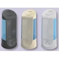 Buy cheap BLACK / SILVER speed silent operation 12 Negative Ion mini ionic air purifier / 60W from wholesalers