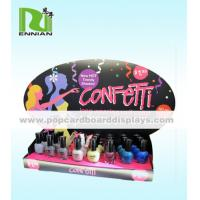 Buy cheap Foldable Custom Nail Polish Cardboard POP Displays For Promotion from wholesalers