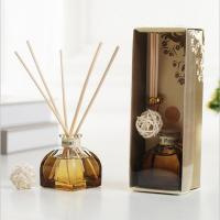 Buy cheap Decorative Home Reed Diffuser Natural Essential Oil Aroma Glass Bottle Reed Diffuser product