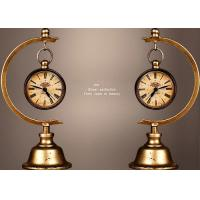Buy cheap Home / Office Decoration Ancient Style Table Clock Iron Material Made from wholesalers