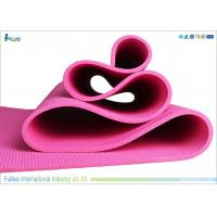 Buy cheap Waterproof  Pvc Eva Foam Yoga Mat Extra Cushioned In Vigour Pink Color from wholesalers