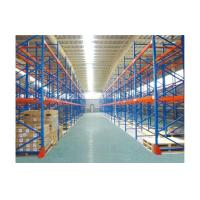 Buy cheap Custom selective pallet racking systems / adjustable industrial shelving racks from wholesalers
