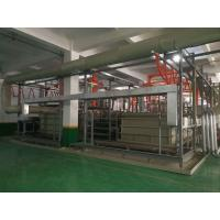 Buy cheap 2 T/㎡ Automatic Anodizing Plant , Titanium Anodizing Machine Drainage Facilities Divided from wholesalers
