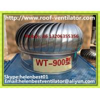Buy cheap 900mm roof turbo ventilator for warehouse stainless steel from wholesalers