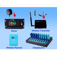 Buy cheap 2.4 G digital Wireless GPS Multilingual tour commentary system from wholesalers