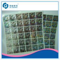 Buy cheap 3D Rainbow Custom Hologram Stickers On A Roll For Tobacco / Electronic from wholesalers