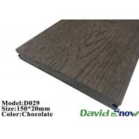Buy cheap Composite Decking Floor Outdoor Swimming Pool Hollow WPC Decking product