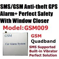 Buy cheap GSM SMS GPS Central Lock Car Security Alarm System from wholesalers
