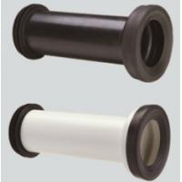 Buy cheap Straight Toilet Drain Pipe Small Friction Resistance Black And White Combination from wholesalers