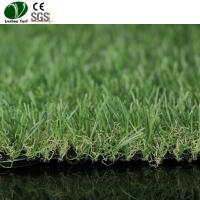 Buy cheap Brush Sanding Machine Light Green Grass 30mm Curled Durable Synthetic from wholesalers
