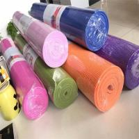 Buy cheap PVC Organic Yoga Mat Eco - Friendly Thickness 3mm 4mm 5mm 6mm 8mm from wholesalers