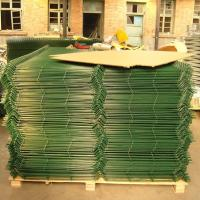 Buy cheap Building Material Weld Mesh Fence Panels / Pvc Coated Wire Mesh Panels from wholesalers