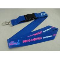 Buy cheap Full Color Printing Promotional Lanyards Sport Meeting Medal Ribbon / ID Neck Ribbon from wholesalers