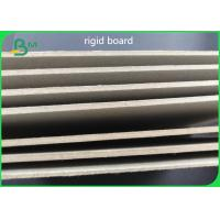 Buy cheap 1.8mm Stationary Paper Light Grey Board 100% waterpaper Recycled from wholesalers