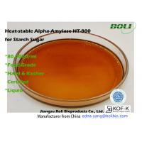 Buy cheap BOLI Liquefaction Enzyme Heat Stable Alpha Amylase HT-800 For Starch Sugar Fermentation from wholesalers