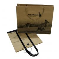 Buy cheap Printed Paper Carrier Bag 1C Printing 2 Sides with PP Cord Handle from wholesalers
