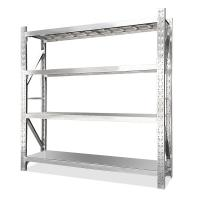 Buy cheap Middle Duty Stainless Steel Shelving Racks For Restaurant Kitchen 200kg Per Layer from wholesalers