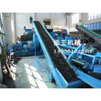 Wholesale Customized Waster Rubber Recycling Plant Tire Shredding Equipment from china suppliers