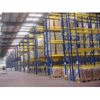 Buy cheap Selective Pallet Racking System , Adjustable Industrial Shelving With Zinc Plated from wholesalers