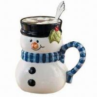 Wholesale Coffee Mug, Made of Ceramic, Customized Sizes are Accepted from china suppliers