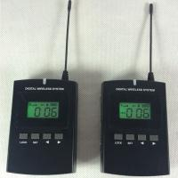 Wholesale Black 008C Digital Wireless Tour Guide System With Excellent Sound Effect Good Quality from china suppliers