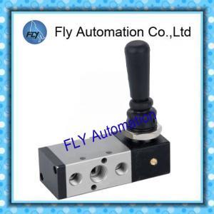 China 0-0.9Mpa 5/2 Way 1/4 Shako TSV86522 Hand Lever Pneumatic Manual Valve on sale
