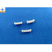 Buy cheap 1mm Pitch Electrical Wiring Connectors , Wire To Board Header PA66 Material from wholesalers