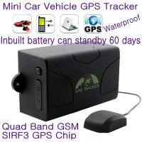 Buy cheap GPS104 Waterproof Car Taxi Truck Vehicle GPS SMS GPRS Tracker Support 60-day Long Standby from wholesalers