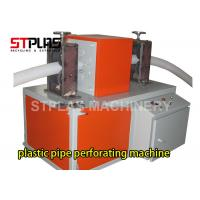Buy cheap HDPE PE Corrugated Pipe Making Machine / Perforating Machine Single Or Double Wall from wholesalers