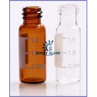 8-425 2ml amber autosampler vial with writing patch/SCHOTT Amber glass tubing  VS  9-425 2ml hplc vials with patch