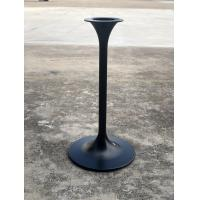 Buy cheap Bistro Table base Steel Table leg Modern Tulip design Pedestal Dining table height product