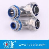 Buy cheap Zinc Die Cast Liquid Tight Flexible Type 90 Degree Angle Connector from wholesalers