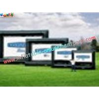 Wholesale OEM Outside Wide Inflatable Movie Screen projection Display, Outdoor Large Screen from china suppliers