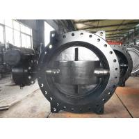 Buy cheap Ductile Iron Eccentric Butterfly Valve / Water Butterfly Valve Size Range DN100 - DN3600 from wholesalers