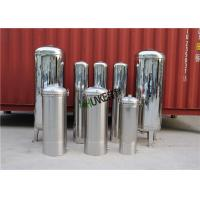 Buy cheap SS304 316 Cartridge Filter Housing / Filter Vessel Tank For RO Plant Easy Cleaning from wholesalers