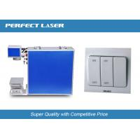 Professional Laser Marking Machine With 7000mm/S Max Scanning Speed , High Power Manufactures