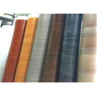 Buy cheap Rigid Wood Grain Cabinet Covers Laminate Covering For Kitchen Cupboard Doors from wholesalers