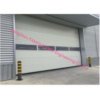 Buy cheap PU Foaming Automatic Handle Industrial Garage Doors EPS Sandwich Panel Sliding Door For Workshop from wholesalers