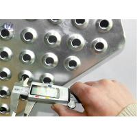 Buy cheap Perforated Non slip Safty Grating/Aluminum Anti Skid Perforated Plate for Stair Treads from wholesalers