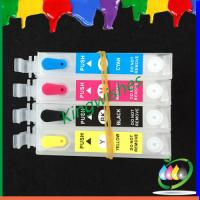 Wholesale T1771-T1774 refillable ink cartridge for Epson XP-102 XP-202 with 4 color chip from china suppliers