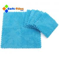 Buy cheap Plush Carpet Foam Floor Tiles with Softer, Safety,Easy to Fix , Water-proof from wholesalers